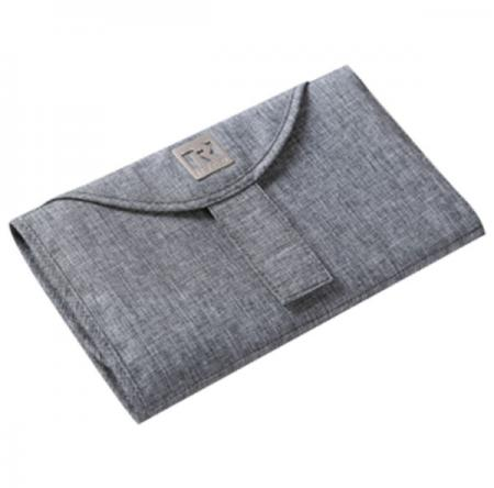 Deluxe-Change-Mat-with-pockets---Grey